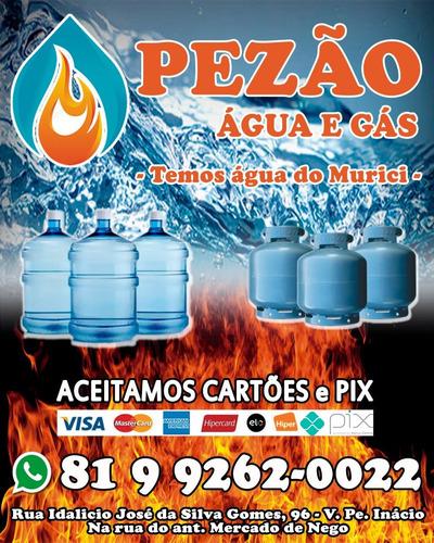 Imagem 1 de 1 de Pezao Água É Gás Caruaru Entrega De Água E Gás Caruaru