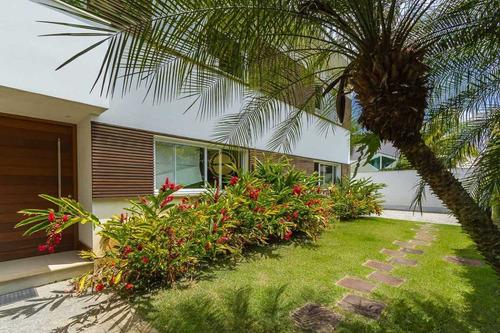 Casas A Venda No Condomínio Mansões Barra Da Tijuca - Ebcn50135