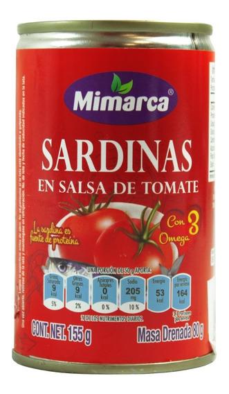 Sardina Mimarca En Salsa Tomate Mimarca 155 Gr Lata