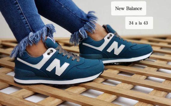 Zapatillas New Ballance Tenis Calzado Para Dama Y Caballero