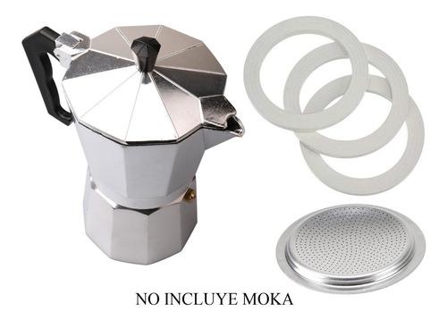 Repuesto De Empaque Y Filtro Para Cafetera Italiana 12 Tazas