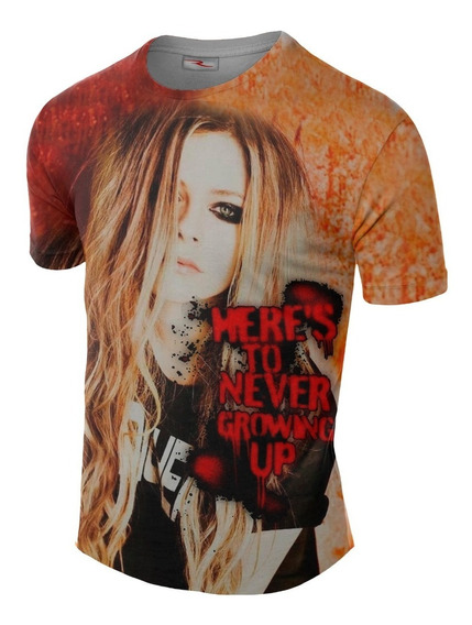 Remera Sublimada Avril Lavigne Ranwey Cs290