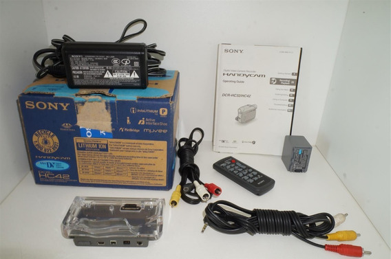 Acessórios Sem A Filmadora Sony Handycam Dcr-hc42