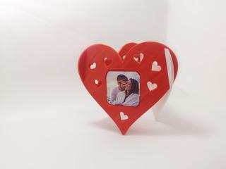 Porta Retratos Corazones San Valentín
