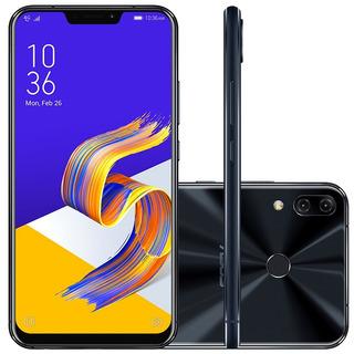Smartphone Asus Zenfone 5z Zs620kl 128gb Octa Core Câmera Dupla 12mp+8mp Tela 6.2 , Preto