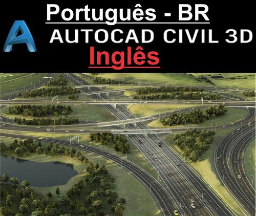 Civil 3d 2021 ::português Br:: Inglês::