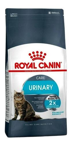 Imagen 1 de 1 de Alimento Royal Canin Feline Care Nutrition Urinary Care para gato adulto sabor mix en bolsa de 7.5kg