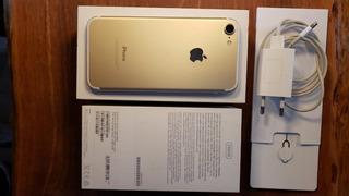 Celular iPhone 7 256gb Dourado Lindo Impecável Únicadona