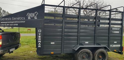 Carro Jaula  Mod Tcjm 3500 Cab/vacas Cigueña 3.5 M Patentab