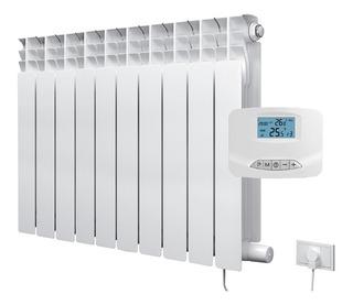 Radiador Eléctrico De 10 Elementos 1500w + Termostato Inalam