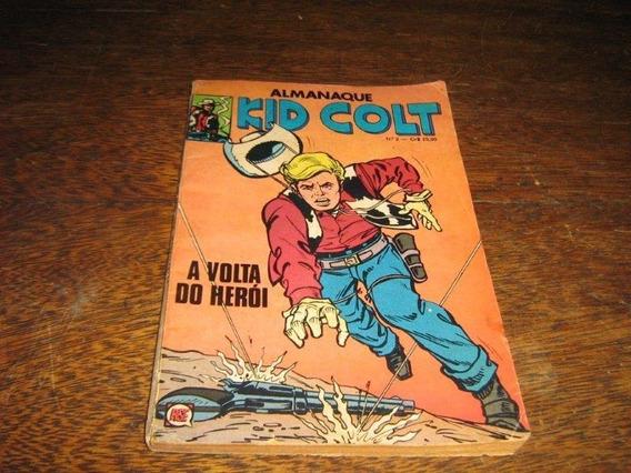 Almanaque Kid Colt Nº 2 Ano:1980 Rio Gráfica 100 Págs