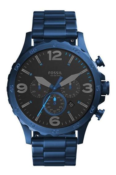 Relógio Fossil Masculino Nate Chrono - Jr1530/4pn
