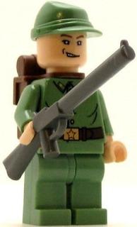 Lego Indiana Jones Minifig Guardia Rusa 3 Compreonline!