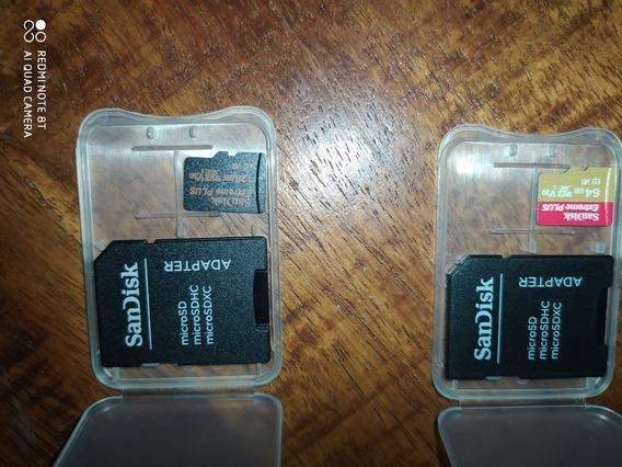 Pacote Com 4 Cartão De Memória Sandisk Extreme +