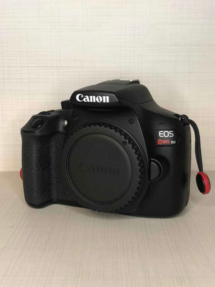 Camera Canon T6 Kit Completo