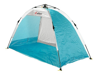 Carpa Playera 2 Personas Autoarmable 100x190 Outdoors 9001