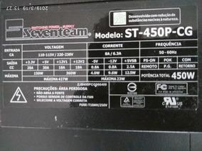 Fonte Seventeam St-450p-cg Usada