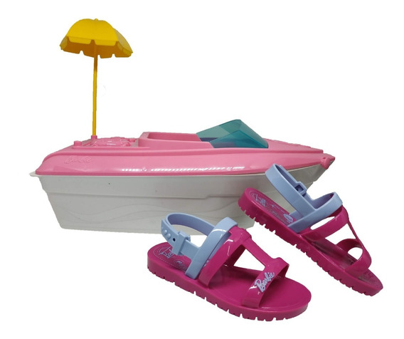 Sandalia Infantil Barbie Iate Grendene 22002