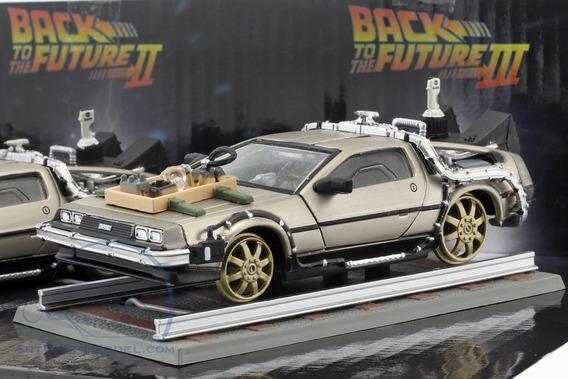 Car Delorean Sunstar Back To The Future 3. Escala 1:18