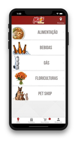 Mais Delivery | App | Pedidos Online | Marketplace