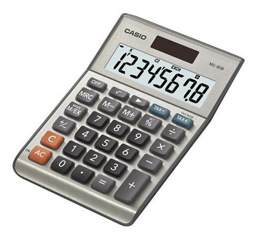 Imagen 1 de 1 de Calculadoras De Escritorio Casio Ms-80