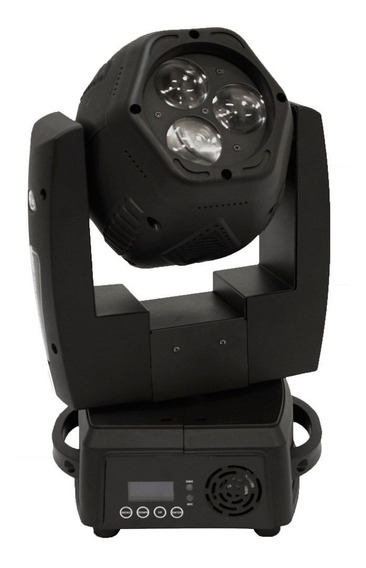 Moving Head Beam Pls Duo300 Free 3 Leds 8w Profissional