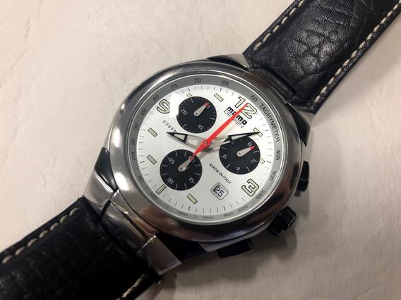Relógio Momo Design 42mm Na Caixa Quartz Tal Como Tissot Omega Bulova Oris Longines Certina Mido Tag