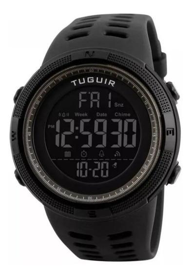 Relógio De Pulso Digital Luz Interna Casual Tg1251