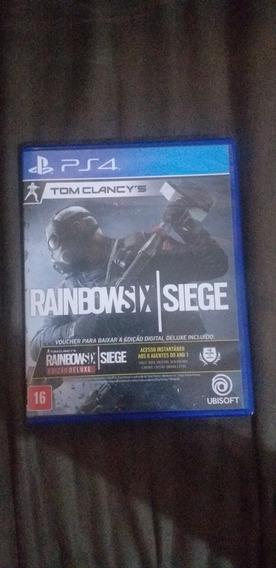 Rainbowsix Edição Deluxe Pra Ps4