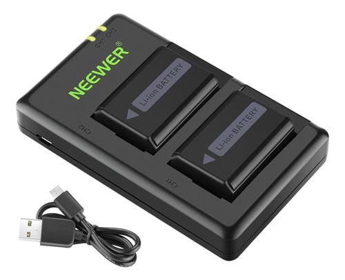 Neewer Np-fw50 - Batería Y Cargador Para Sony A7 A7r Ii