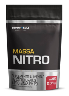 Massa Nitro 2,52kg Probiotica Refil - Chocolate