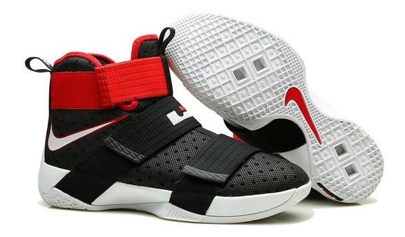 Tênis Nike Lebron Soldier 10 Bred #prontaentrega#