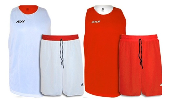 Set De 13 Uniformes Basquetból Doble Vista Rb ¡envío Gratis!