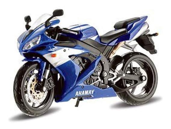 Maisto Juguete Motocicleta Yamaha Yzf-r1 Escala 1:12