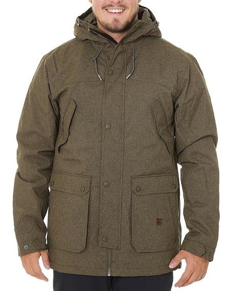 Campera Billabong Alves 10k Jacket Military Hombre M723qbav