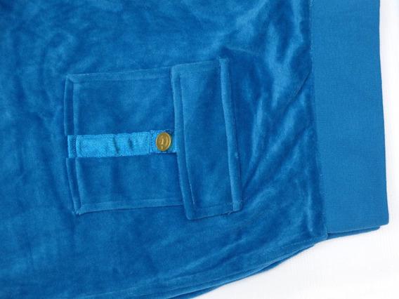 Calça Azul Petroleo Marca Liquido
