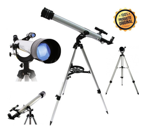 Telescopio Refractor Aumento 525x Espectacular Vision