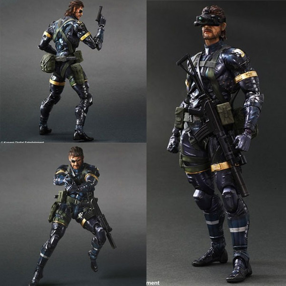 Metal Gear Solid V 5 Ground Zeroes Snake Play Arts Kai