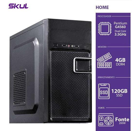 Computador Home H200 - Pentium Dual Core G4560 3.5ghz 4gb D