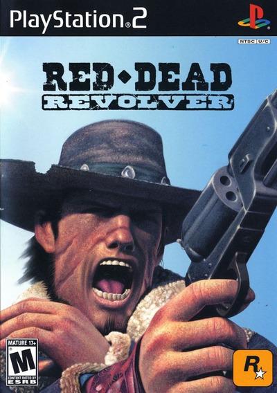 Red Dead Revolver Playstation 2 Ps2 + Super Brinde! Frete 10