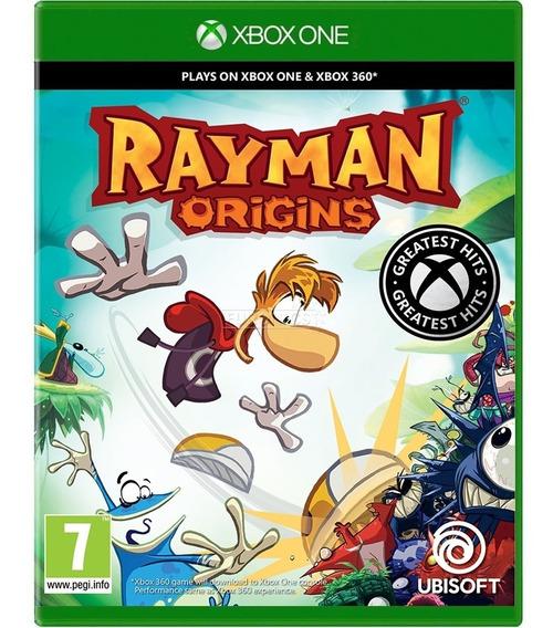 Rayman Origins Xbox One Mídia Física Novo Português Barato