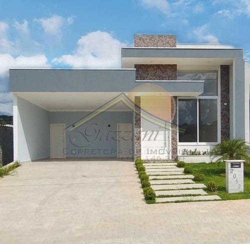 Imagem 1 de 15 de Casa Para Venda Em Bragança Paulista, Condomínio Residencial Euroville Ii, 3 Suítes, 2 Vagas - G0838_2-1178659