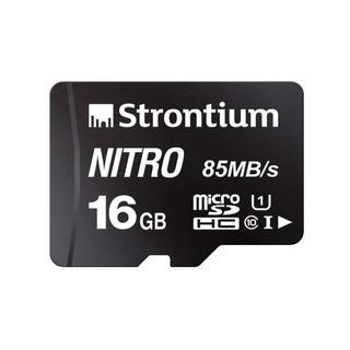 Strontium Nitro 16gb Micro Sdhc Tarjeta Memoria 85mb / S Uhs