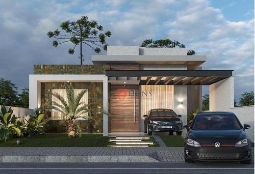 Casa Com 3 Dormitórios À Venda, 110 M² Por R$ 554.000,00 - Santa Cruz - Gravataí/rs - Ca1300