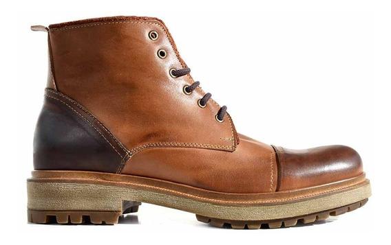 Bota Hombre Borcegos Cuero Zapatos Briganti Botas Hcbo00948