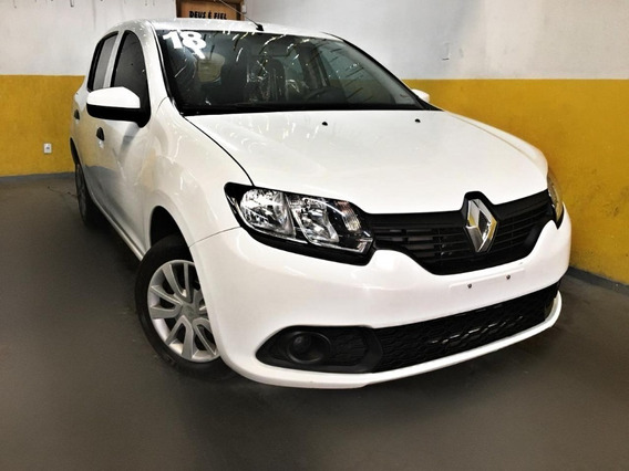 Renault Sandero Authentic 1.0 Completo 2018