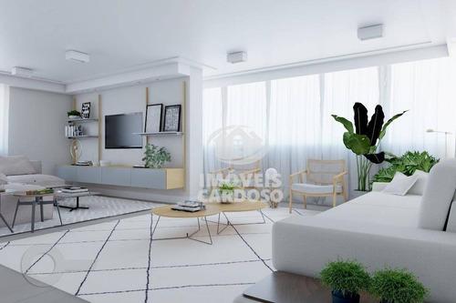 Imagem 1 de 6 de Apartamento Com 3 Dormitórios À Venda, 205 M² Por R$ 2.400.000 - Alto De Pinheiros - São Paulo/sp - Ap17519