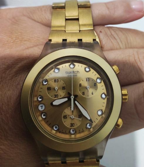 Relógio Swatch Irony Diaphane Com Extensor