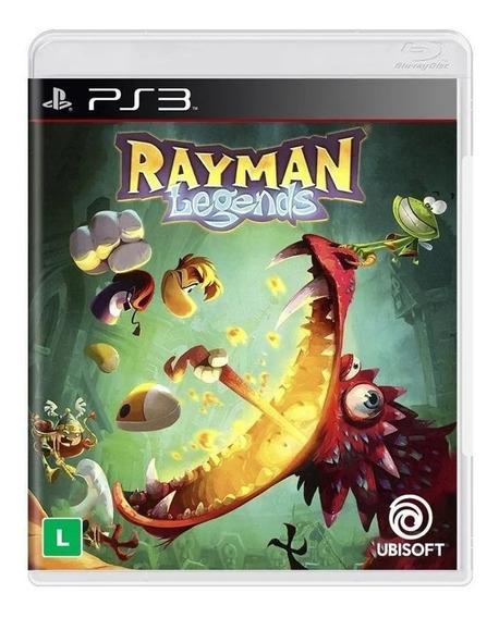 Game Rayman Legends Ubisoft Ps3 Novo Original Lacrado