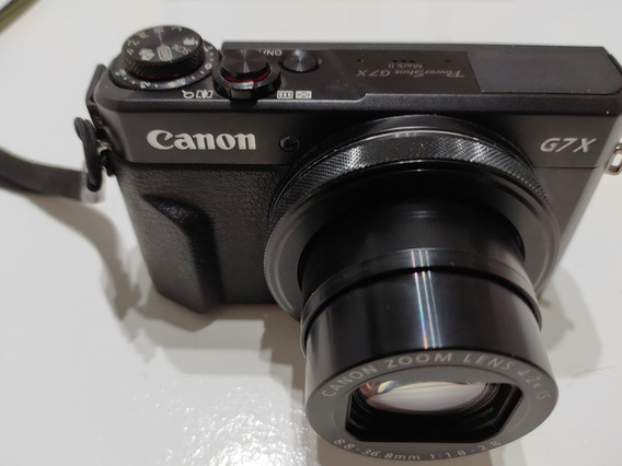 Camara Canon G7x Mark Ii Para Blogs Y Youtubers
